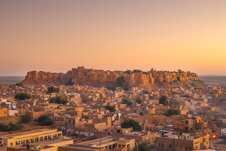 Jaisalmer Fort in sunset light, Rajasthan, India | © muzato/Shutterstock