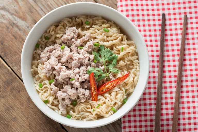 Noodles with minced pork | © inewsfoto/Shutterstock