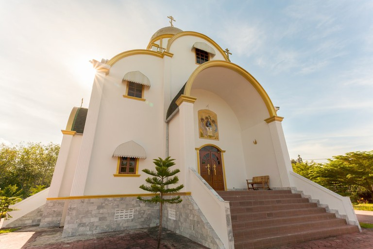 Russian Orthodox church in Phuket, Thailand