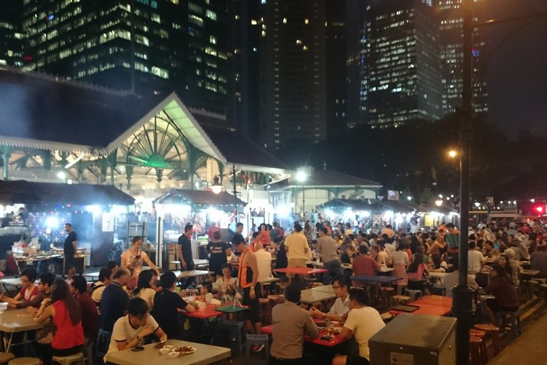 Singapore Lau Pa Sat Hawker Centre