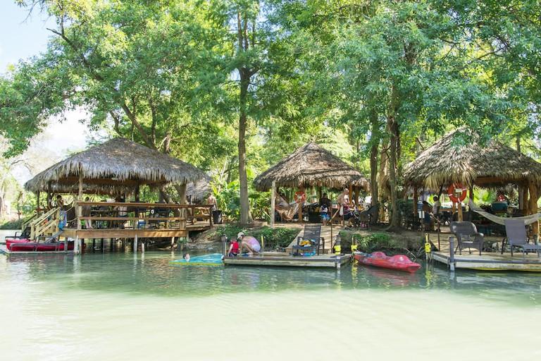 Son's Island cabanas
