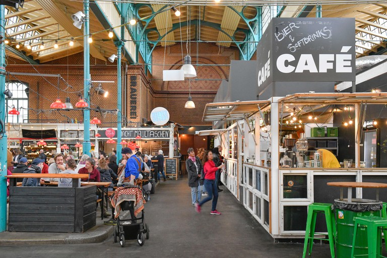 Bones Kantine at Markthalle Neun serves street food and also has a delicious Saturday brunch menu