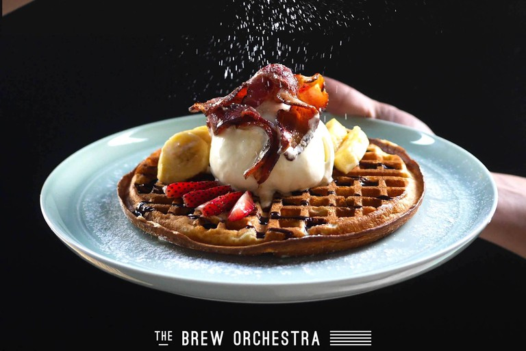 Dessert at The Brew Orchestra