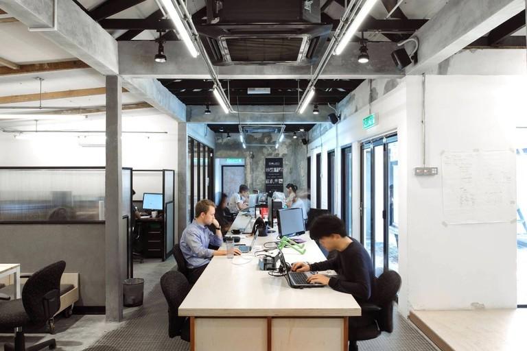 Work space at The Co. Bangsar