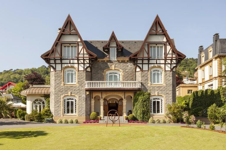 The Hotel Villa Soro oozes period charm