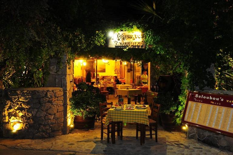 Scloubou's Taverna in Zakynthos
