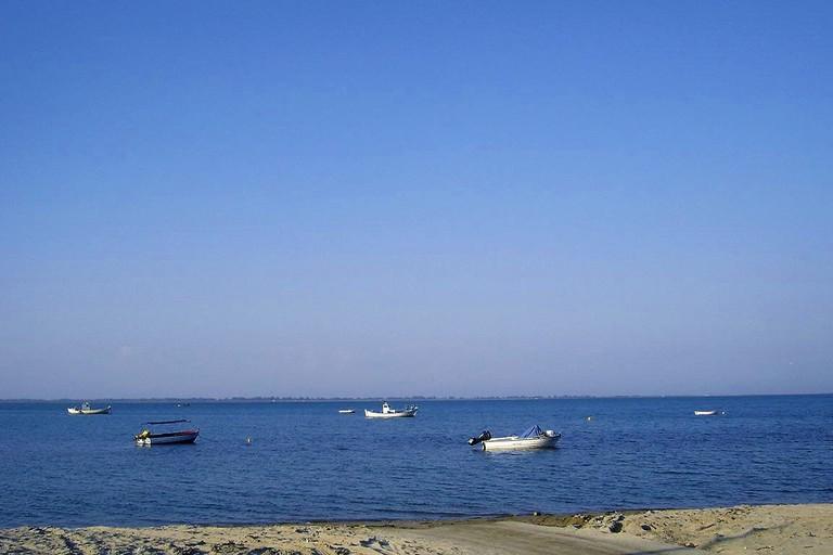 Methoni beach, Pieria, Greece