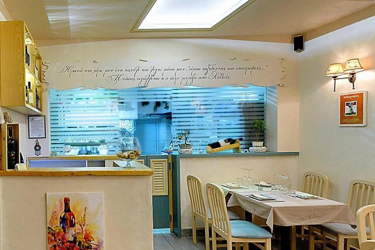 Restaurant Anthos, Corfu