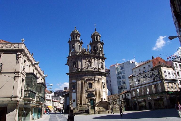 Capela da Peregrina, Pontevedra, Spain