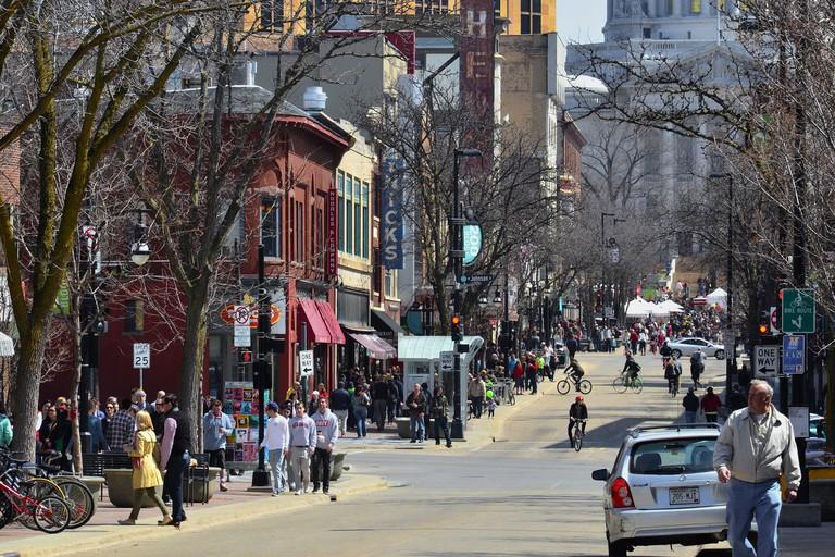 State Street in Madison   © Richard Hurd/flickr