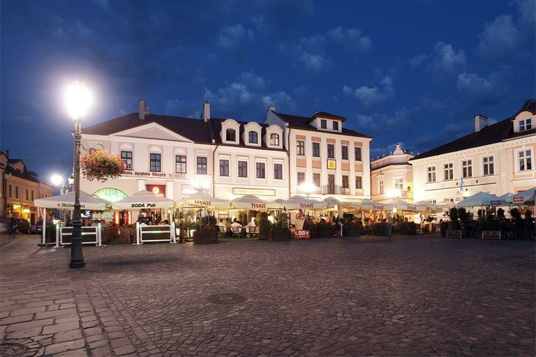 The Hotel Ambasadorski in the main square in Rzeszów | © Hotel Ambasadorski Rzeszów