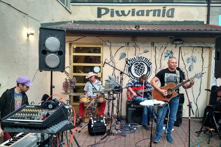 A live band at Piwiarnia, Częstochowa | © Piwarnia Częstochowa