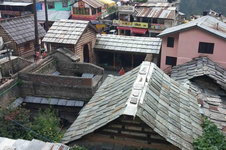 The roofs of the hot springs of Vashisht