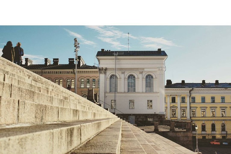 One of Helsinki's best Instagram spots, The Senate Square.