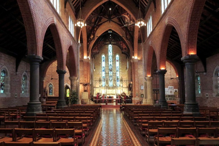 Inside St George's Cathedral