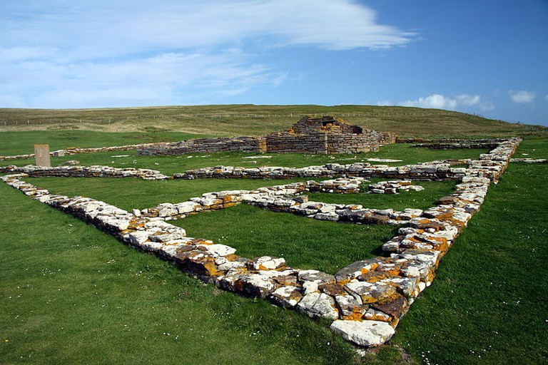 Ancient Ruins On The Brough Of Birsay
