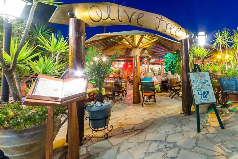 Olive Tree restaurant in Kalamaki, Zakynthos
