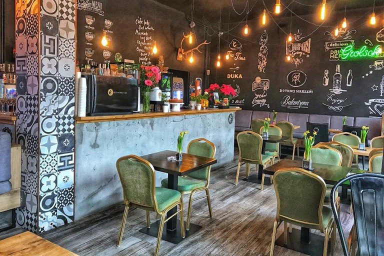 The cosy Green Monkey Cafe | © Green Monkey Cafe