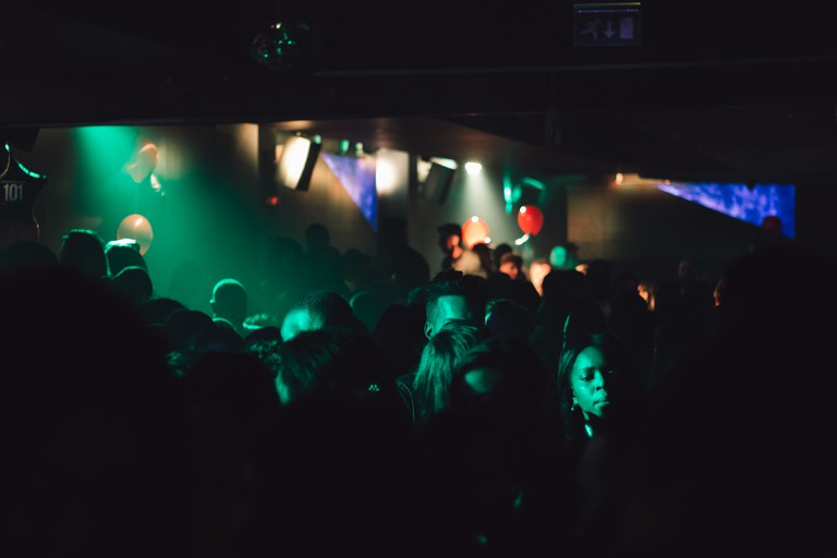 The dance floor is packed © Alex Holyoake