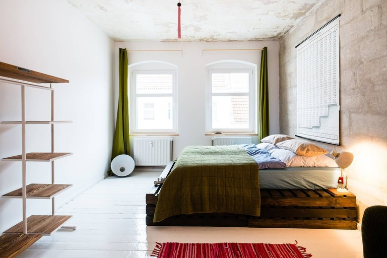 This studio in Prenzlauerberg has a chic, minimalist interior