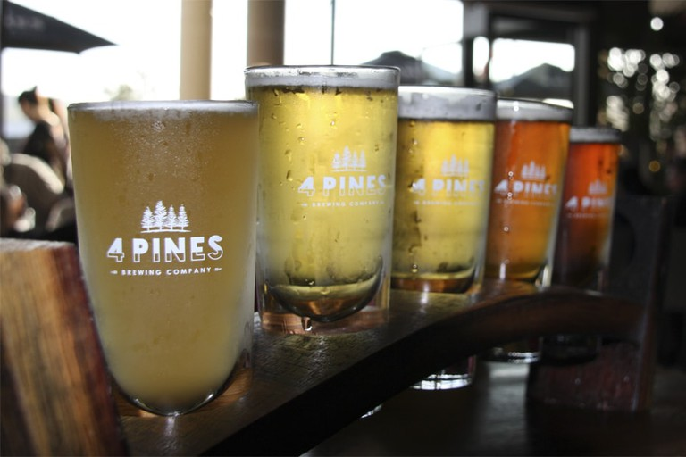 4 Pines beers in Manly © Stefano / Wikimedia Commons