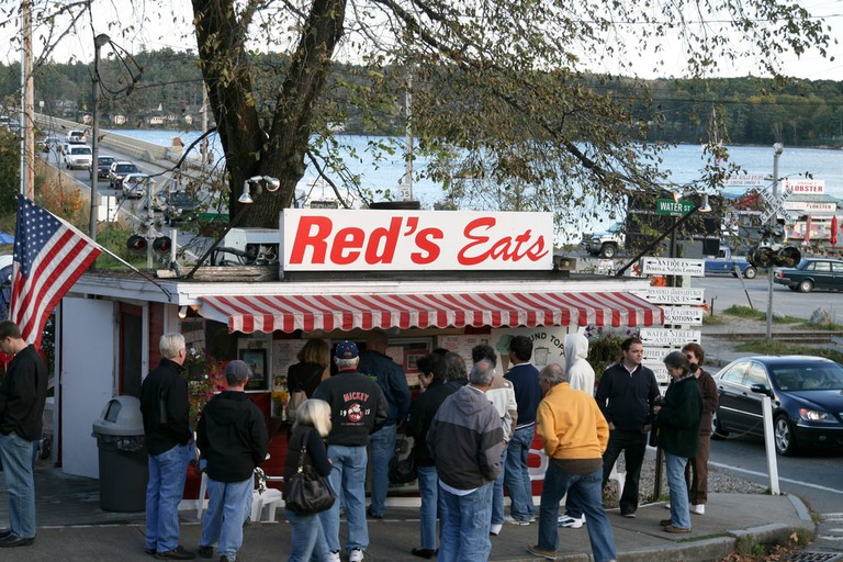 Red's Eats in Maine