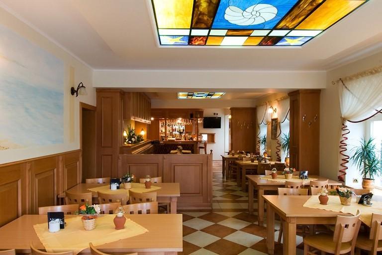 Restaurant and Bar at Hotel Nautilus | Courtesy of Hotel Nautilus