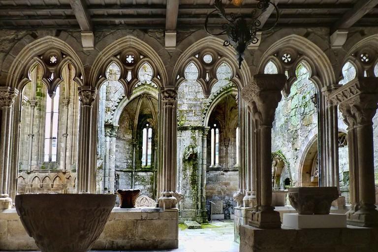 Ruinas de San Domingo, Pontevedra, Spain