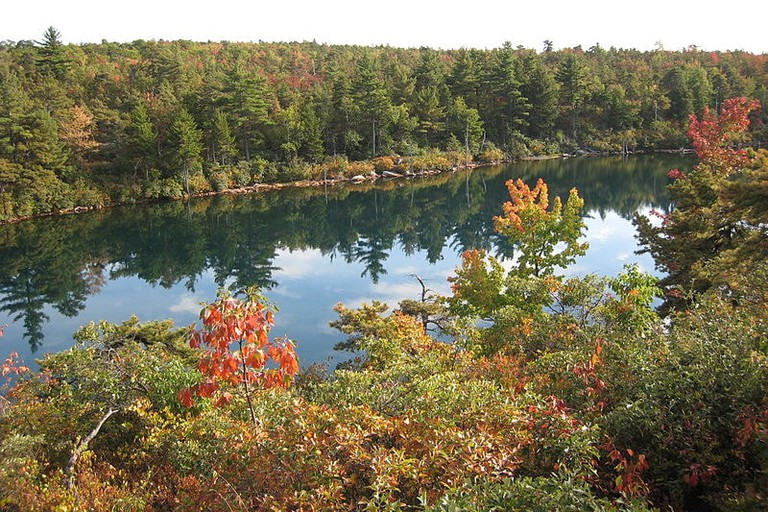 Lake Awosting in Minnewaska State Park