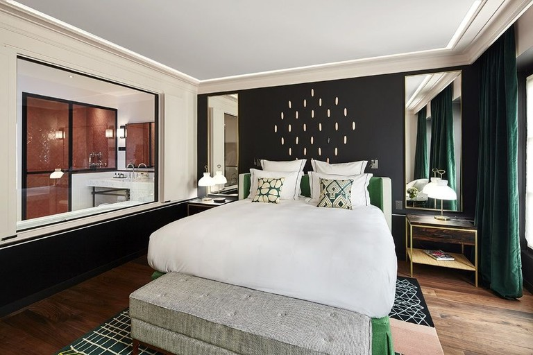 The rooms at Le Roch Hotel & Spa are designed by Sarah Lavoine