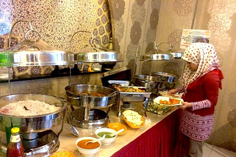 Buffet Spread at Arabian Nights