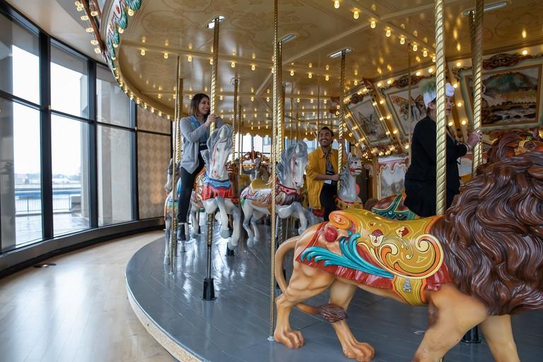 Carousel at Grand Rapids Public Museum