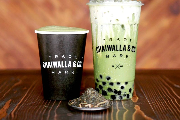 Coffee at Chaiwalla and Co. Container Cafe