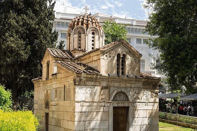 Church_Theotokos_Gorgoepikoos_and_Agios_Eleytherios_Athens,_Greece