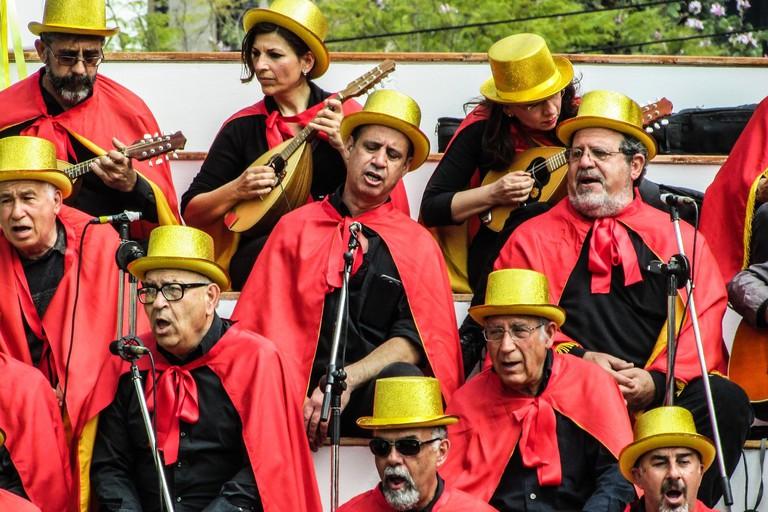 Carnival choir