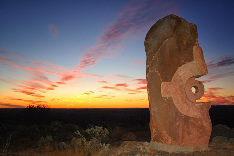 Desert sculpture in Broken Hill © Colleen Galvin / Flickr