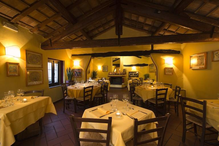 Traditional fine dining at El Brellin in Navigli, Milan   Courtesy El Brellin