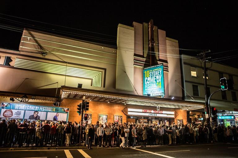 Enmore Theatre Exterior Sydney Comedy Festival