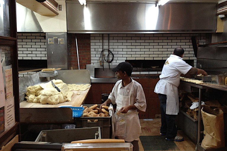 Bagels being made at Fairmont
