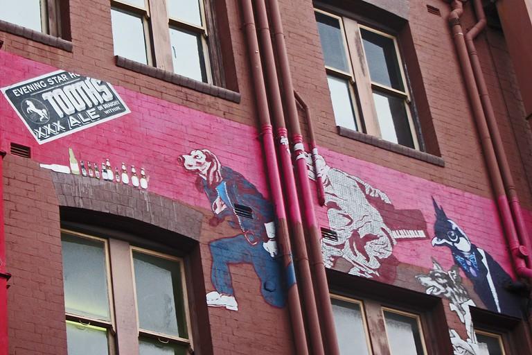 Graffiti in Foley St © Newtown graffiti / Flickr