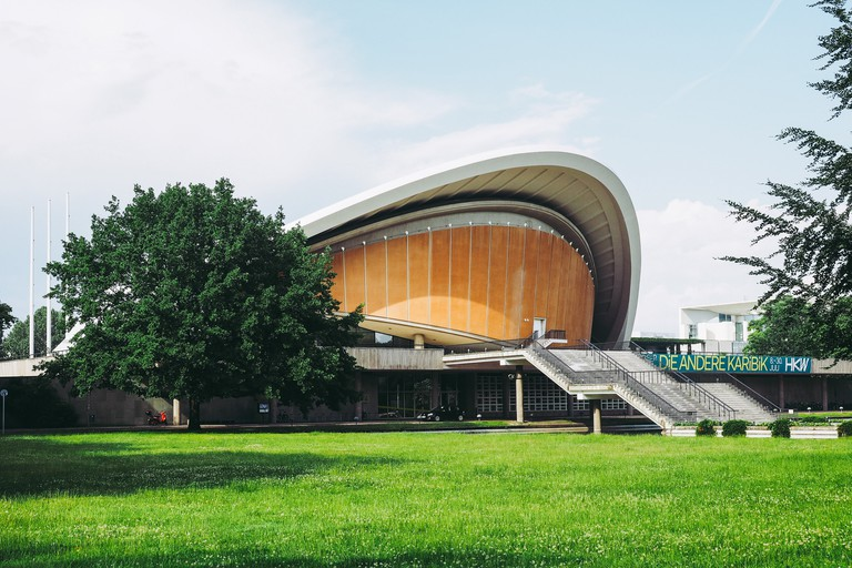 The Haus der Kulturen der Welt is Germany's national hub for contemporary arts