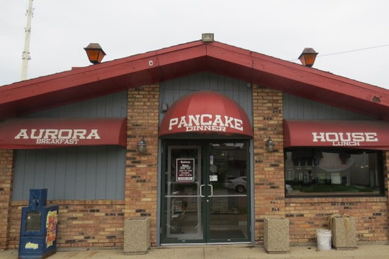 Popular pancake and breakfast place, Aurora, Illinois