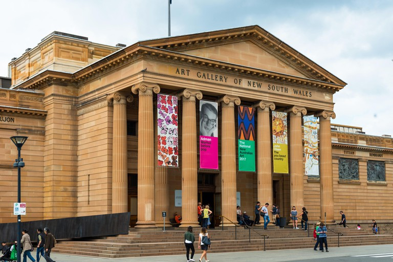 Art Gallery of New South Wales, Sydney, New South Wales, Australia.