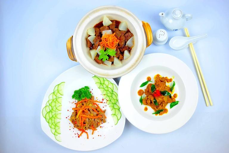 Dishes at Kai Xuan