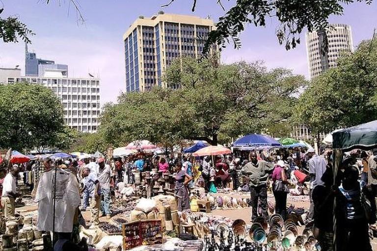 Maasai Market Maasai Market souvenir tour