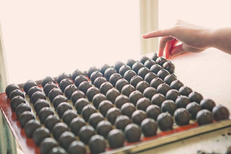 Best chocolates in Finland can be found in Porvoo