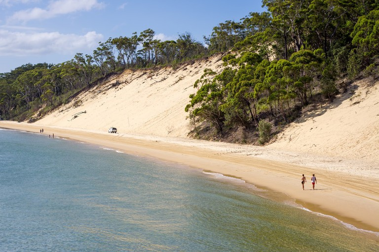 Moreton Island sand dune © James Niland / Flickr