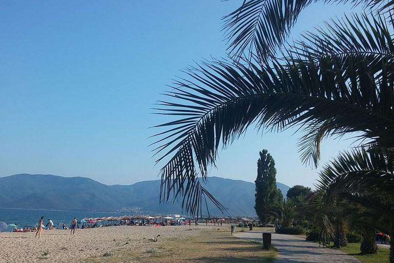Nea Vrasna beach