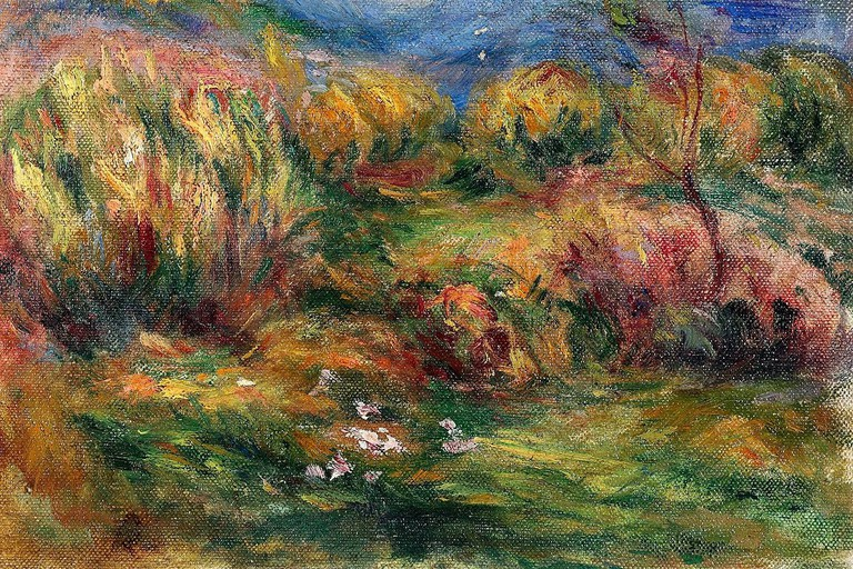 A Renoir sold in 2009 by the Galerie Hurtebize, Cannes | © Public domain / WikiCommons