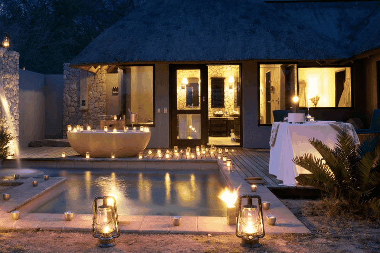 The perfect setting for a romantic evening